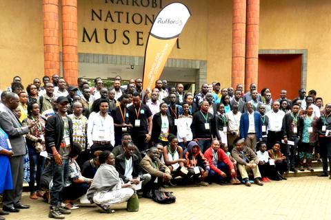 129 conservationists from 8 countries in one place.