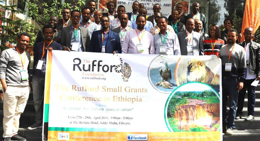 39 conservationists from 5 countries in one place.