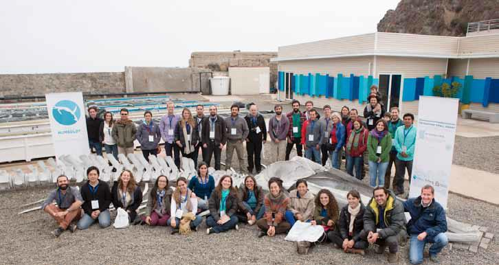 Participants of The Rufford Small Grant Conference Southamerica 2015, Quintay, Chile.
