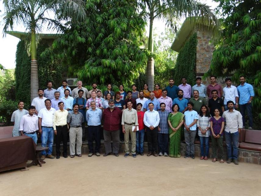 Participants and the invited speakers.