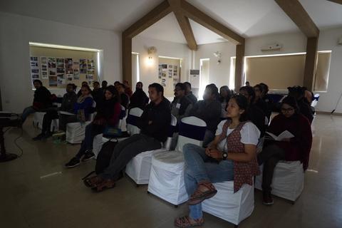 Participants of the Rufford India Conference, Corbett 2019.