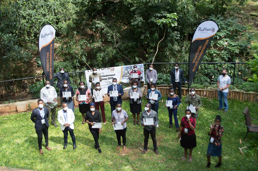 Participants at The Rufford Foundation Kenya Conference 2020