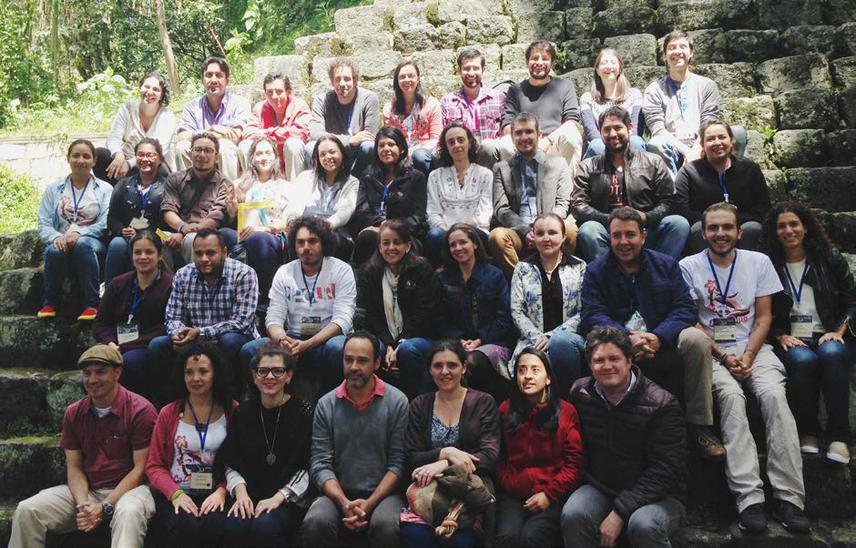 Rufford grantees and workshop participants, Andes University.