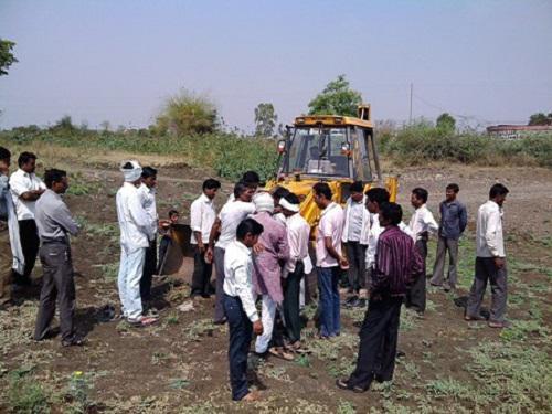 Initiation of eco-restoration work at Wapti village.