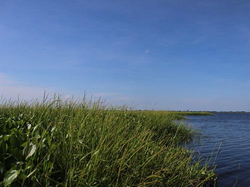 El Totumo, one of the  floodplain lakes that is part of my study.