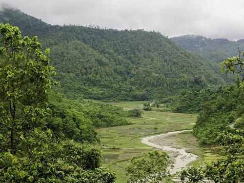 Ludikhola watershed.
