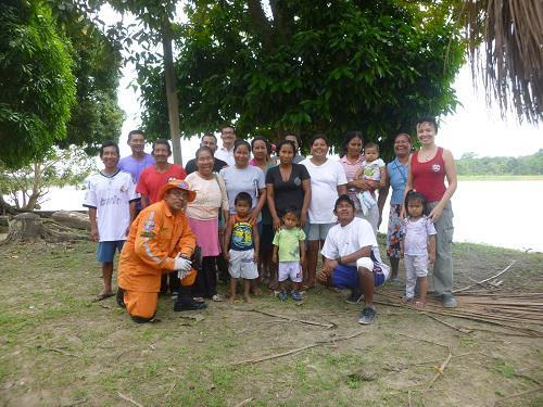 First Aid group in Vista Alegre.