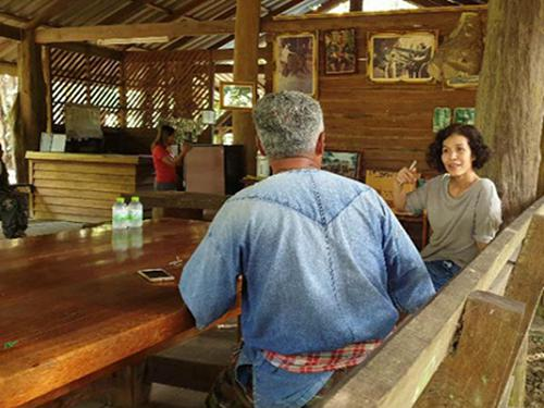 Interviews with elephants owners.