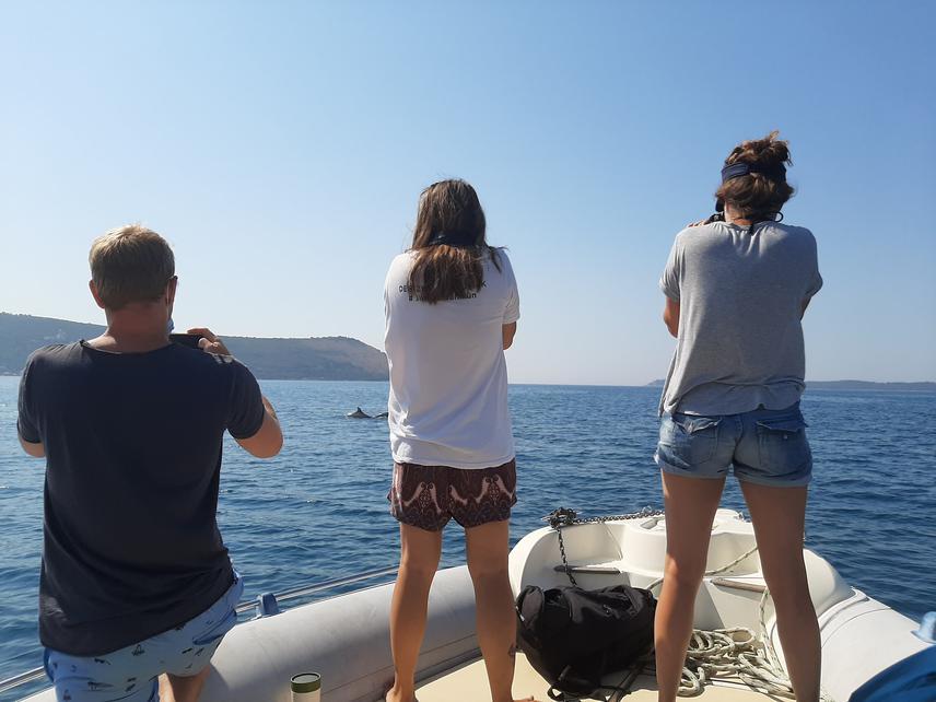 Boat survey. © Selina Brouwer