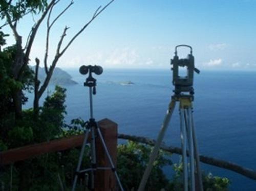 Land based monitoring.