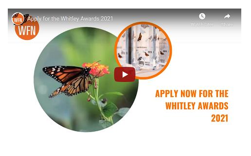 Whitley Awards 2021 image